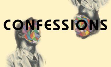 Visueel van project Confessions