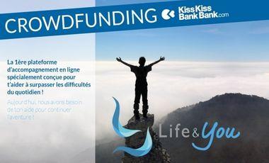 Visueel van project Life&You t'accompagne vers ton idéal !