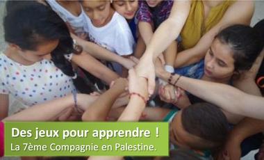 Visueel van project Des jeux pour apprendre : animation en Palestine