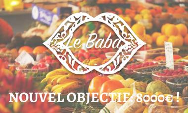 Visueel van project Le Baba, marché-cantine des chefs migrants