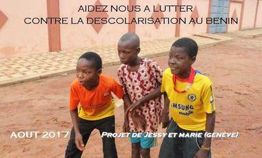 Visueel van project Lutte contre la déscolarisation au Bénin