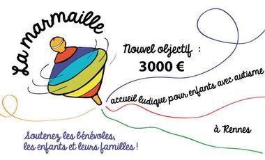 Visueel van project La Marmaille : accueil ludique pour enfants autistes