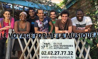 Visueel van project Le voyage forme la musique!