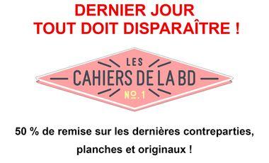 Project visual Les Cahiers de la BD renaissent !