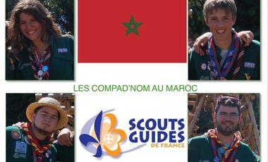 Project visual Les compad'nom au Maroc