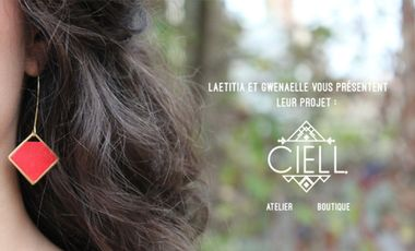 Project visual Atelier Boutique CIELL