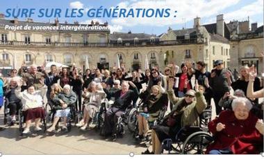Visueel van project Surf sur les générations