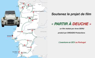 Visueel van project Partir à deuche, l'aventure en Citroën 2CV