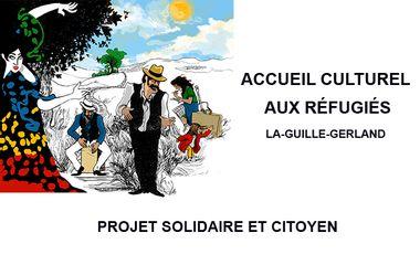 Project visual Accueil Culturel aux Réfugiés - ateliers, spectacles et rencontres thématiques