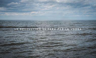 Project visual La révolution se fera par la Vodka