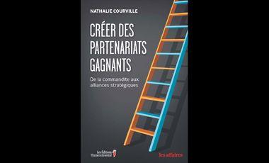 """Project visual Mon livre """"Créer des partenariats gagnants"""" s'envole vers l'Europe!"""