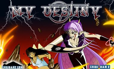 Project visual My destiny tome 2 et salons expo BD