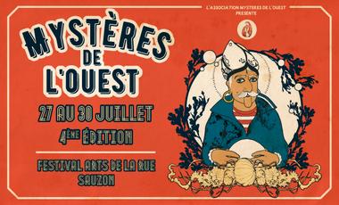 Visuel du projet Festival Mystères de l'Ouest, 4ème édition!