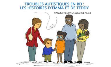 Project visual Aider les enfants autistes en BD – Les histoires de Emma & Teddy