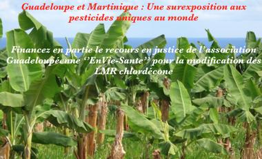 Visueel van project Guadeloupe et Martinique : une surexposition aux pesticides unique au monde.