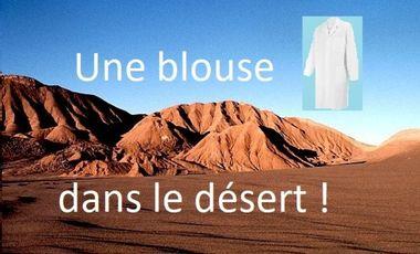 Visuel du projet Une blouse dans le désert !
