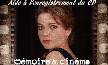 """Visueel van project Enregistrement du CD """"Mémoire et Cinéma"""""""