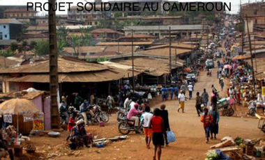 Project visual Projet solidaire au Cameroun