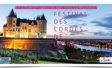 Project visual Festival des Cordes de Loire. Soutenez des jeunes talents