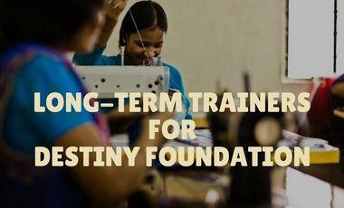 Visueel van project Long-term trainers for Destiny Foundation