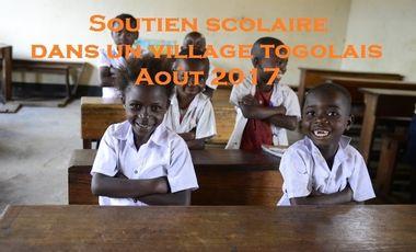 Visueel van project Aider Manon et Marie à partir en voyage solidaire au Togo