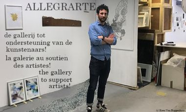 Project visual Allegrarte, the art gallery where artists take on a central role!