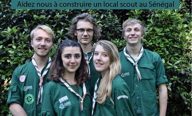 Visuel du projet Aidez les scouts du Sénégal