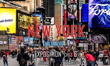 """Visueel van project """"NEW YORK : Instants T"""""""
