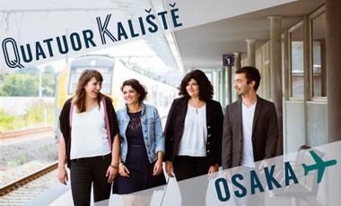 Visueel van project Quatuor Kaliště au Japon  : Direction Osaka !