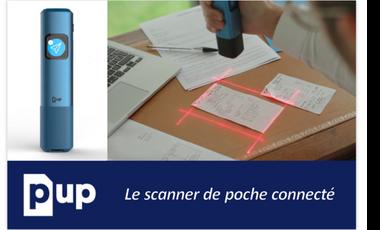 Project visual PUP, votre scanner de poche connecté