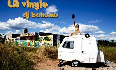 "Visueel van project ""LA vinyle - DJ bohême"""