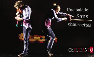 """Project visual """"Une balade Sans chaussettes"""" à Avignon"""