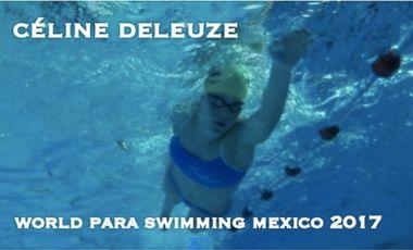 Visuel du projet Céline, World Para swimming Mexico 2017