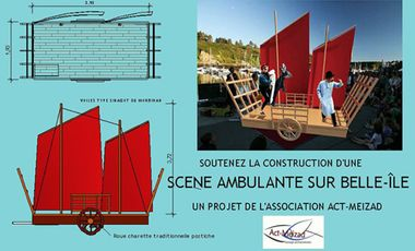 Project visual Une scène ambulante à Belle Ile en Mer