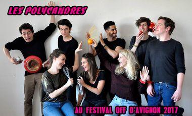 Visueel van project Les Polycandres au Festival OFF 2017