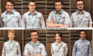 Visuel du projet Des scouts solidaires, de France en Arménie