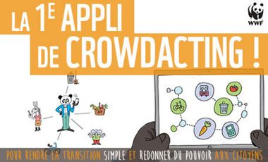 Visueel van project La plateforme de Crowdacting