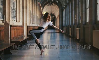 Project visual Une année au Ballet Junior de Genève