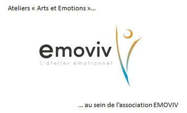 """Project visual Ateliers """"arts et émotions"""" au sein de l'association EMOVIV"""