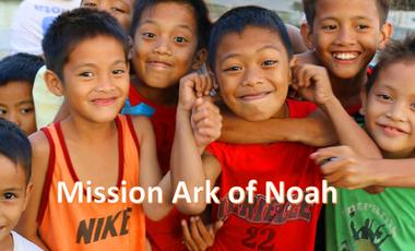 Visuel du projet Venez en aide aux enfants philippins d'Ark of Noah