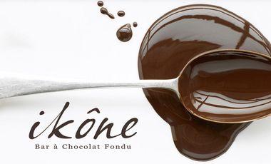 """Project visual IKÔNE - Bar à Chocolat """"Fondu"""""""