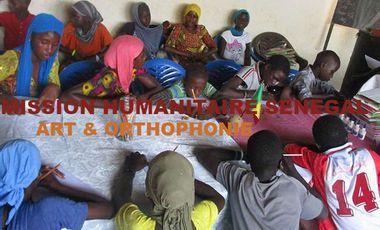 Visueel van project Mission humanitaire enfants sénégal