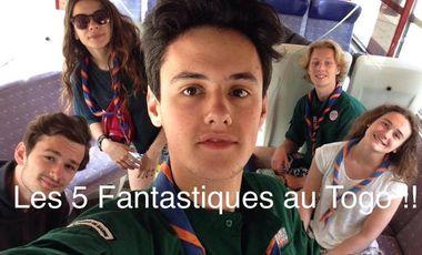 Project visual Les 5 Fantastiques au Togo !