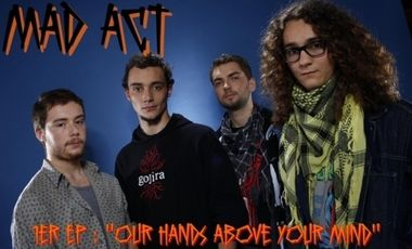 Project visual 1er EP de MAD ACT (Thrash Metal déjanté) !