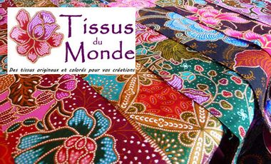 Project visual Tissus du Monde