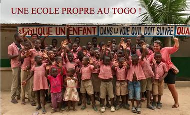 Project visual Une école propre au Togo !