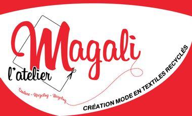 Visueel van project Magali L'atelier, création de mode en textiles recyclés