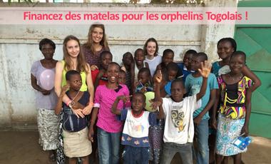 Visuel du projet Financez des matelas pour les orphelins Togolais !