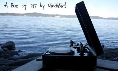 Visuel du projet 'A Box of 78s', a soundwork and vinyl record by DinahBird