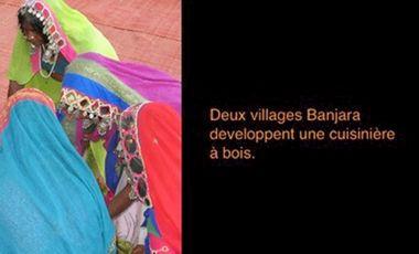 Visuel du projet Deux villages Banjara écrivent leur premier livre !
